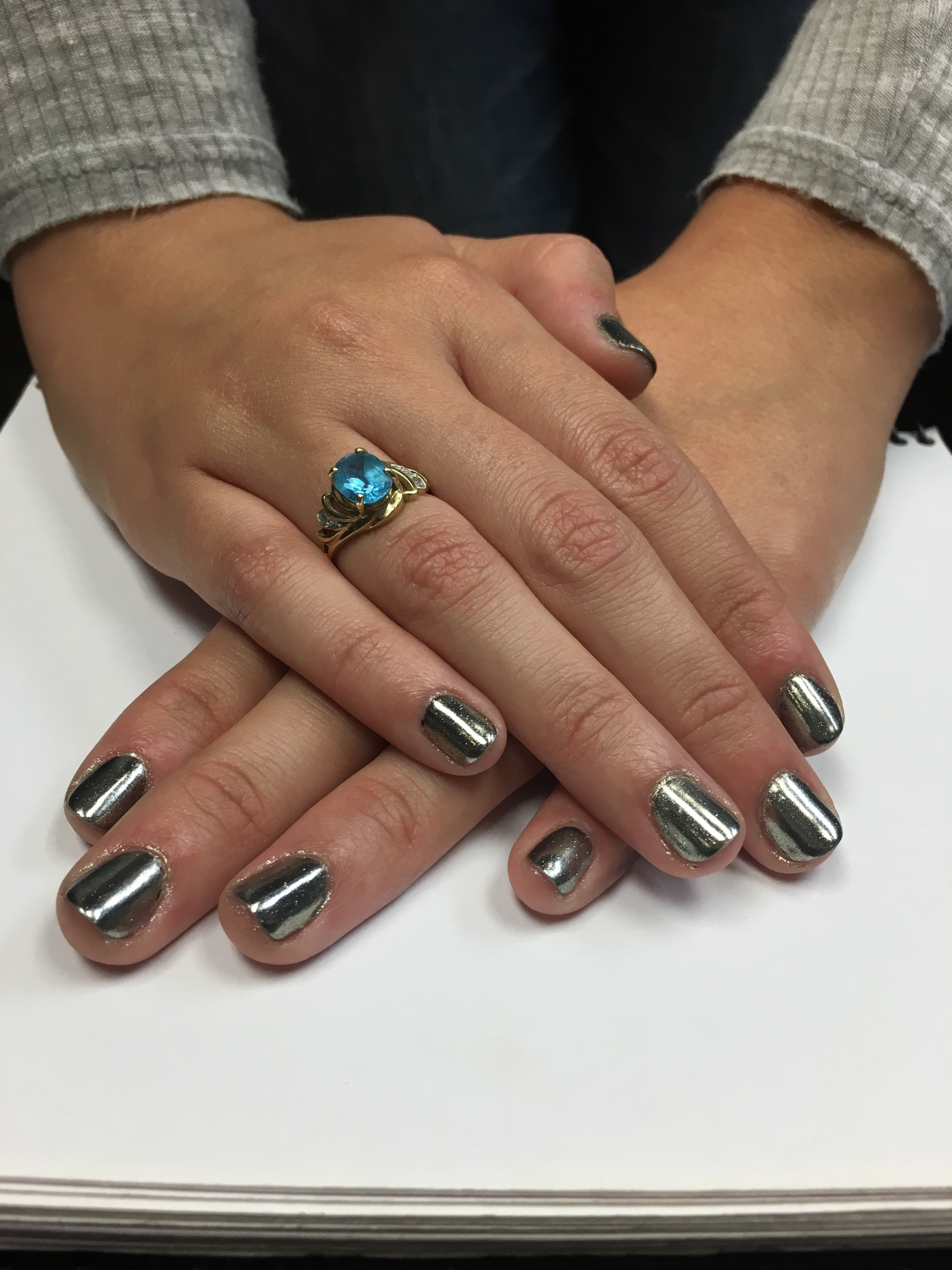 The newest trend in nails is now available at J. Russell the Salon!