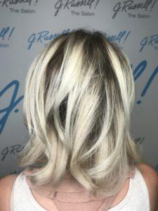 goldwell blonde hair hairstylist hair salon blow out blow dry bar palm desert palm springs california